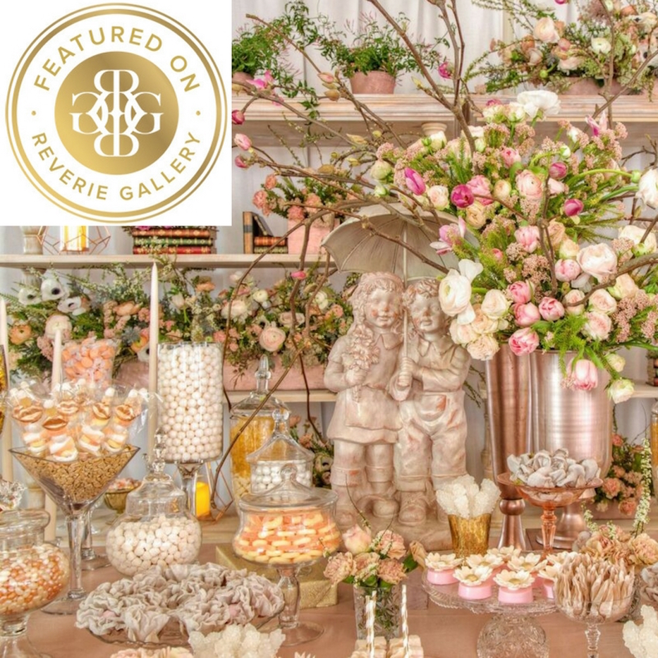 The Wedding Candybar Of Your Dreams Featured On Reverie Gallery